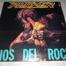 Discos de vinilo: PANZER-DIOS DEL ROCK. Lote 276948678