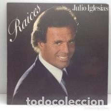 "Discos de vinilo: DISCO LP VINILO -JULIO IGLESIAS ""RAICES""- 1989. Lote 276957868"