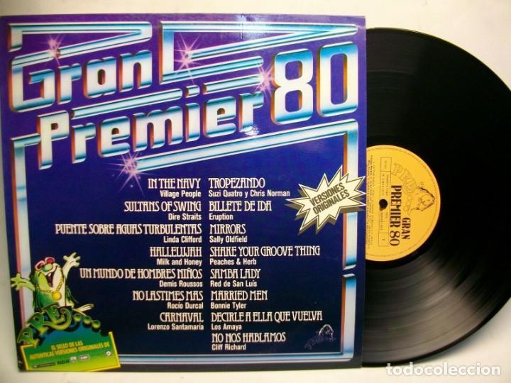 GRAN PREMIER 80 VINYL LP: LA 1ª EDICIÓN DE ESTA EXISTOSA SAGA (Música - Discos - LP Vinilo - Pop - Rock - New Wave Internacional de los 80)