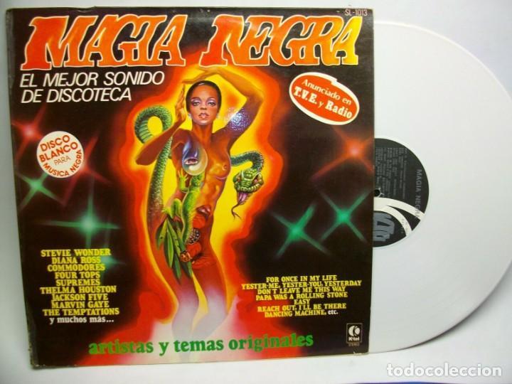 MAGIA NEGRA LP DISCO VINILO BLANCO (Música - Discos - LP Vinilo - Pop - Rock - New Wave Internacional de los 80)