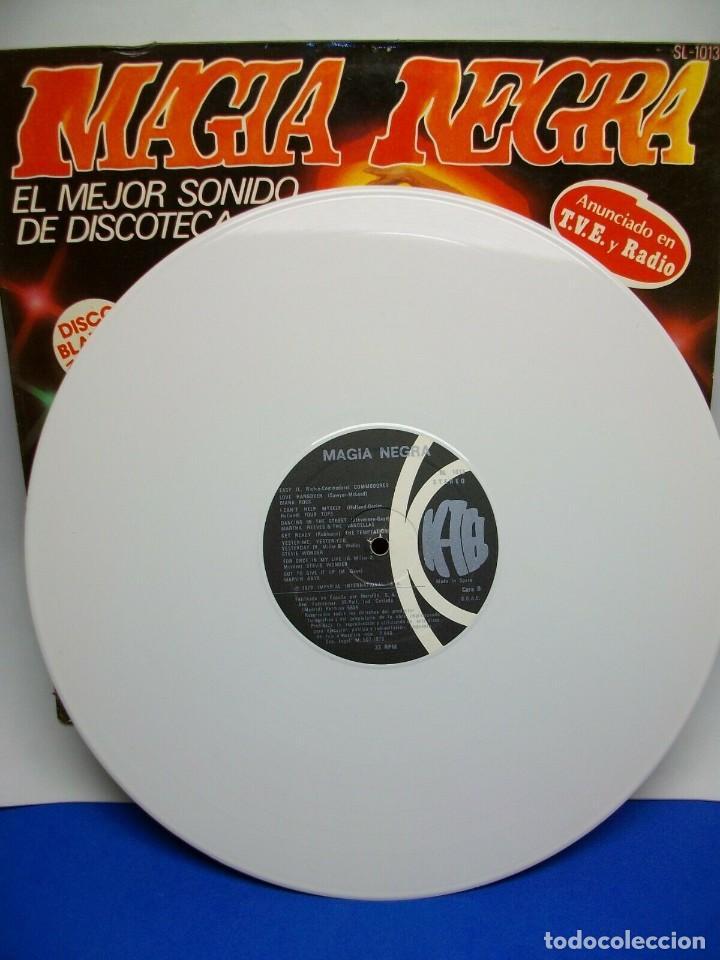 Discos de vinilo: MAGIA NEGRA LP DISCO VINILO BLANCO - Foto 2 - 276962208