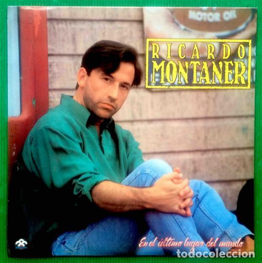 RICARDO MONTANER – EN EL ÚLTIMO LUGAR DEL MUNDO, VINILO, LP. (Música - Discos - LP Vinilo - Otros estilos)