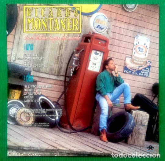 Discos de vinilo: Ricardo Montaner – En El Último Lugar Del Mundo, vinilo, LP. - Foto 2 - 276962713