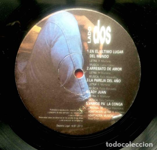 Discos de vinilo: Ricardo Montaner – En El Último Lugar Del Mundo, vinilo, LP. - Foto 4 - 276962713