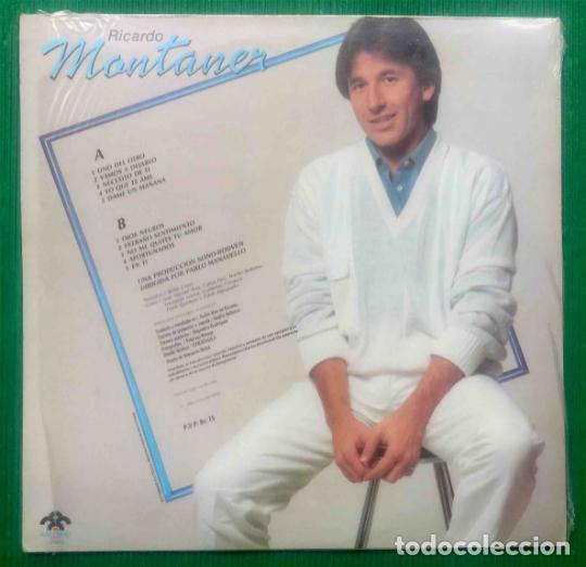 Discos de vinilo: Ricardo Montaner – Ricardo Montaner, vinilo, LP. - Foto 2 - 276962983