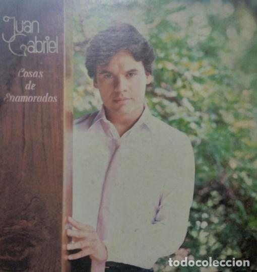 JUAN GABRIEL – COSAS DE ENAMORADOS, VINILO, LP. (Música - Discos - LP Vinilo - Otros estilos)