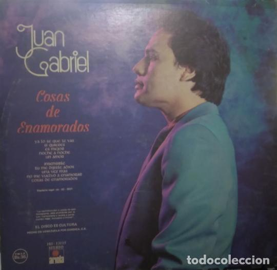 Discos de vinilo: Juan Gabriel – Cosas De Enamorados, vinilo, LP. - Foto 2 - 276963323