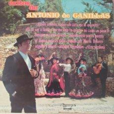 Discos de vinilo: ANTONIO DE CANILLAS LP SELLO OLYMPO EDITADO EN ESPAÑA AÑO 1978. Lote 276967593