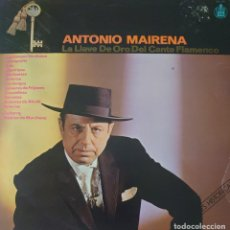 Discos de vinilo: ANTONIO MAIRENA LP SELLO HISPAVOX EDITADO EN ESPAÑA AÑO 1983. Lote 276967848