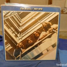 Dischi in vinile: LP THE BEATLES 1967-70 DOBLE AZUL 3 CARAS GENIAL 1 CON LINEA INOCUA E IMPERCEPTIBLE ESPAÑA 73. Lote 276974983