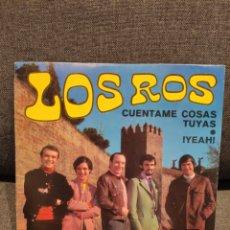 Disques de vinyle: LOS ROS CUÉNTAME COSAS TUYAS + !YEAH! , BELTER 07.578 , ORIGINAL 1969. Lote 276975053