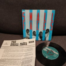Disques de vinyle: RARE PROMOTIONAL SPANISH SINGLE, SMALL FACES ALL OR NOTHING + UNDERSTANDING DECCA 1966. Lote 276976353