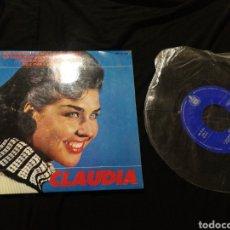 Discos de vinilo: EP CLAUDIA, VINILO, AÑO 1965,CON DEDICATORIA Y FIRMA.. Lote 276976368
