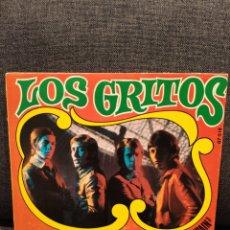 Disques de vinyle: SINGLE LOS GRITOS VEO VISIONES + REIREMOS, SOÑAREMOS DE LA PELÍCULA ABUELO MADE IN SPAIN 1969. Lote 276976518