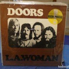 Dischi in vinile: LP DOORS LA WOMAN ESPAÑA 1984 TAPA BIEN VINILO MEJOR AUN ENCARTE. Lote 276983258