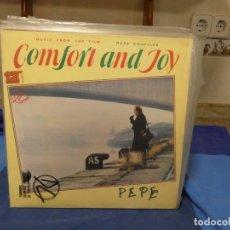 Dischi in vinile: LP BSO OST BANDA SONORA MARK KNOPFLER CONFORT AND JOY DIRE STRAITS VINILO INMACULADO. Lote 276985673