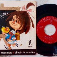 Discos de vinilo: LOS CHAVALITOS T. V. VAMOS AL COLRGIO + 3. EP ESPAÑA ORIGINAL 1965. Lote 276985993