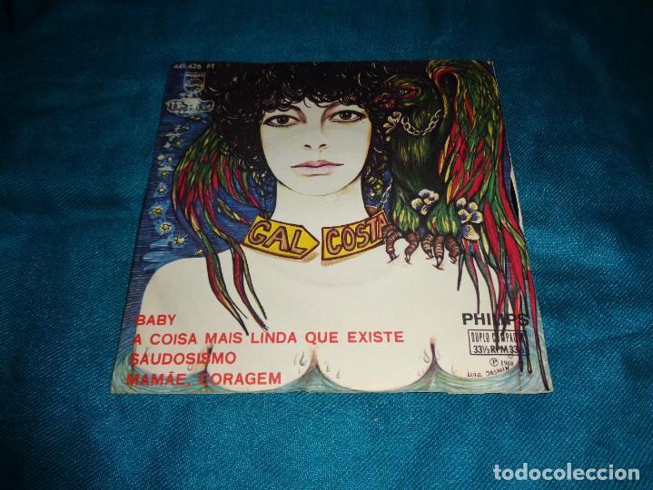 GAL COSTA. BABY / A COISA MAIS LINDA QUE EXISTE + 4. EP. PHILIPS, BRASIL 1968. IMPECABLE(#) (Música - Discos de Vinilo - EPs - Grupos y Solistas de latinoamérica)