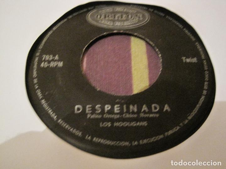 SINGLE LOS HOOLIGANS/MARIA EUGENIO RUBIO ODEON 793 DESPEINADA/PEPINO MEXICO??? VENEZUELA??? (Música - Discos - Singles Vinilo - Grupos y Solistas de latinoamérica)