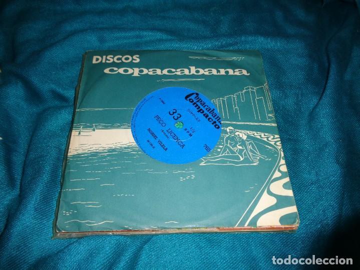 NORIEL VILELA. PEÇO LICENÇA / SO O OME. EDC. BRAZIL, 1968. IMPECABLE (#) (Música - Discos de Vinilo - EPs - Grupos y Solistas de latinoamérica)