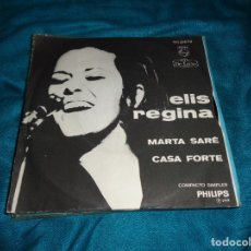 Discos de vinilo: ELIS REGINA. MARTA SARÉ / CASA FORTE. PHILIPS, EDC. BRASIL 1968. IMPECABLE(#). Lote 277010863