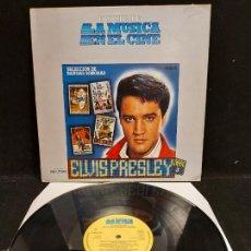 Discos de vinilo: ELVIS PRESLEY / HISTORIA DE LA MÚSICA EN EL CINE / 3 / LP - BELTER-1982 / MBC. ***/***. Lote 277014498