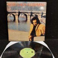 Discos de vinilo: LLUÍS LLACH A L'OLYMPIA / LP-GATEFOLD-MOVIE PLAY-1973 / MBC. ***/***. Lote 277015183