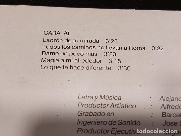 Discos de vinilo: ALEJANDRO ABAD / QUÉDATE CON ÉL / LP - LEIBER-1985 / MBC. ***/*** LETRAS. - Foto 3 - 277018318