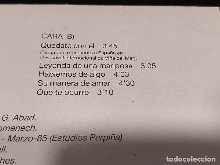 Discos de vinilo: ALEJANDRO ABAD / QUÉDATE CON ÉL / LP - LEIBER-1985 / MBC. ***/*** LETRAS. - Foto 4 - 277018318
