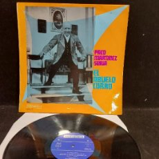 Discos de vinilo: PACO MARTINEZ SORIA / EL ABUELO CURRO / LP - VERGARA-1968 / MBC. ***/***. Lote 277018998