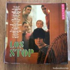 Discos de vinilo: LOS STOP - S/T - LP BELTER 1968. Lote 277025618