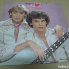 Discos de vinilo: PECOS (LP) UN PAR DE CORAZONES AÑO – 1979. Lote 277034803