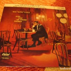 Discos de vinilo: NAT KING COLE EP 45 RPM JUST ONE OF THOSE THINGS CAPITOL ESPAÑA 1958. Lote 277038378