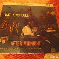 Discos de vinilo: NAT KING COLE & HIS TRIO EP 45 RPM SOMETIMES I´M HAPPY CAPITOL ESPAÑA AÑOS 50. Lote 277038823