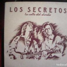 Discos de vinilo: LOS SECRETOS- LA CALLE DEL OLVIDO. LP.. Lote 277040788