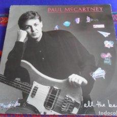 Discos de vinilo: ALL THE BEST! PAUL MCCARTNEY. 2 LP. EMI 174 74 8507 1. AÑO 1987.. Lote 277041218