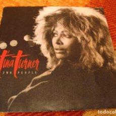 Discos de vinilo: TINA TURNER SINGLE TWO PEOPLE CAPITOL PROMOCIONAL ESPAÑA 1986. Lote 277041703