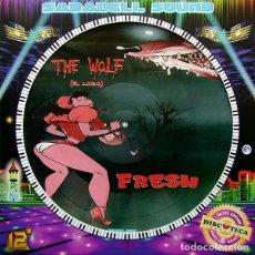 """Discos de vinilo: FRESH (4) / KRISTIAN CONDE - THE WOLF / DOLCE VITA (12"""", MAXI, LTD, PIC, S/EDITION). Lote 277043818"""
