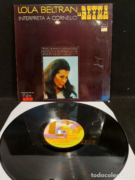 LOLA BELTRAN - LA REINA - INTERPRETA A CORNELIO / LP - GMA-1973 / MBC. ***/*** (Música - Discos - LP Vinilo - Grupos y Solistas de latinoamérica)