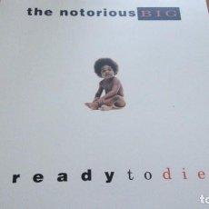 Discos de vinilo: THE NOTORIUS BIG READY TO DIE LP 180 GRAMOS. Lote 277045228