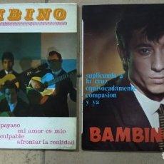 """Discos de vinilo: 2 DISCOS DE 7"""". BAMBINO.. Lote 277045543"""