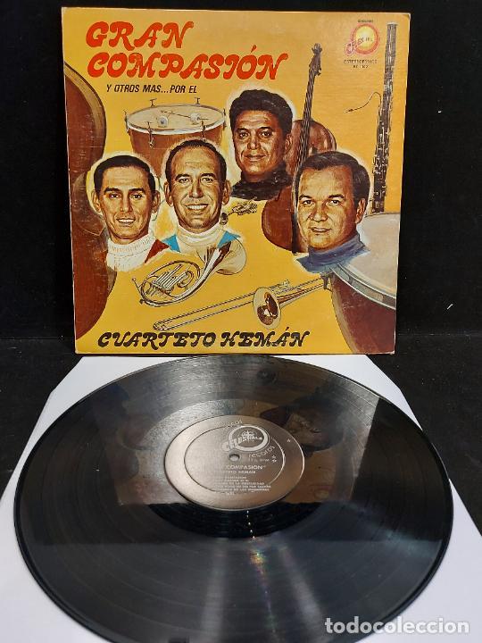 CUARTETO HEMÁN / GRAN COMPASIÓN / LP - CELESTIAL RECORDS- / MBC.***/*** RARO (Música - Discos - LP Vinilo - Grupos y Solistas de latinoamérica)