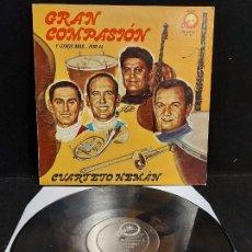 Discos de vinilo: CUARTETO HEMÁN / GRAN COMPASIÓN / LP - CELESTIAL RECORDS- / MBC.***/*** RARO. Lote 277045738
