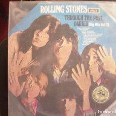 Discos de vinilo: THE ROLLING STONES- THROUGH THE PAST DARKLY. LP. CARPETA OCTOGONAL.. Lote 277048273