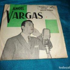 Discos de vinilo: ANGEL VARGAS. VOS HACES LO QUE QUERES + 3. EP, EDC. ARGENTINA. IMPECA(#). Lote 277048533