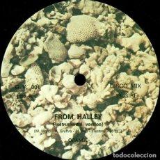 """Discos de vinilo: ORANGE (16) - FROM HALLEY (12""""). Lote 277049033"""