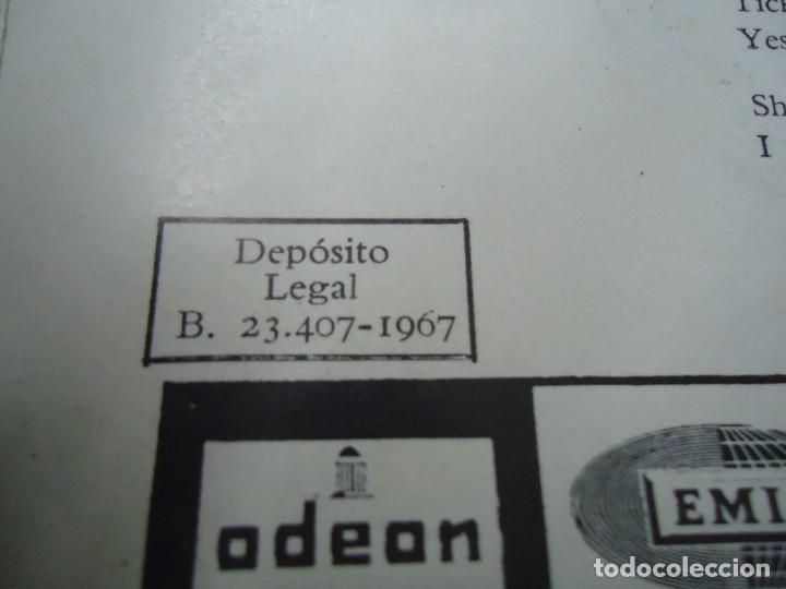 Discos de vinilo: THE BEATLES ALL YOU NEED IS LOVE - BABY YOU´RE A RICH MAN 1967 single DSOL 66080 SINGLE DE THE BEAT - Foto 5 - 277049223
