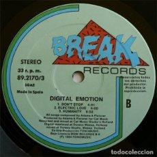 Discos de vinilo: DIGITAL EMOTION - DIGITAL EMOTION (LP, ALBUM). Lote 277049573