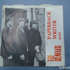 Discos de vinilo: THE BEATLES -- PAPERBACK WRITER & RAIN AÑO 1966 A SIMPLE VISTA ESTÁ BIEN CONSERVADO. Lote 277050008