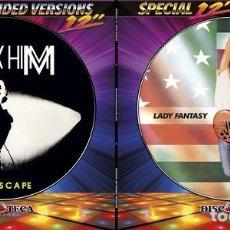 """Discos de vinilo: MAX-HIM - LADY FANTASY / NO ESCAPE (12"""", PIC). Lote 277050883"""